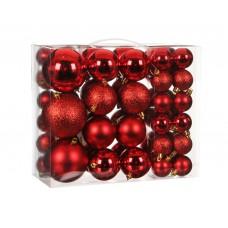 Набор шаров 46 шт Красный