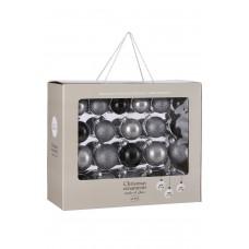 Набор стеклянных шаров 42 шт Звездная ночь