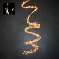 Светодиодная гирлянда Хвост 520 огней Теплый белый свет медный провод 2 м